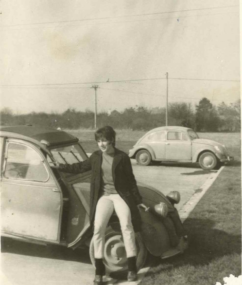 me and the deux chevaux car