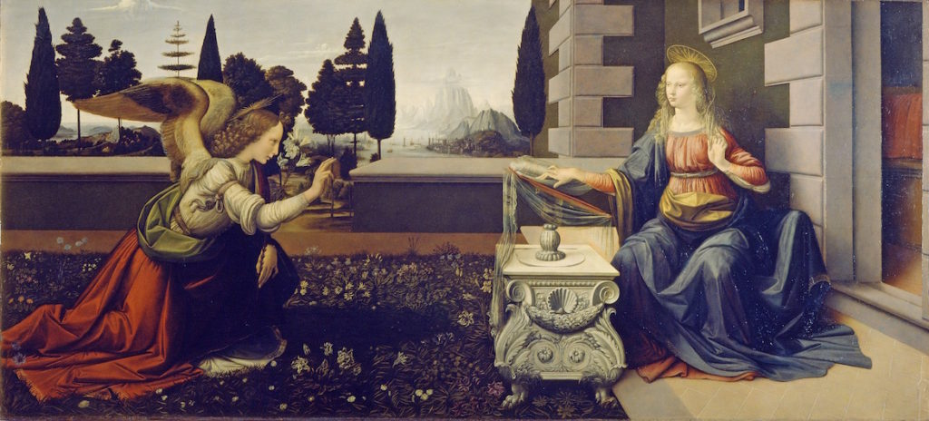 the-annunciation-da-vinci