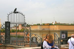 Young love in Rome