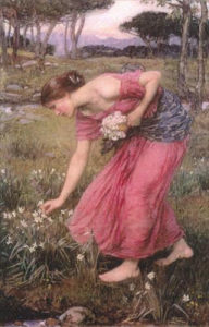 perspehone-and-the narcissusw-waterhouse