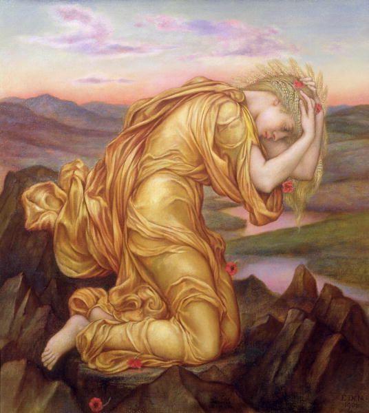 Persephone's Mother Demeter